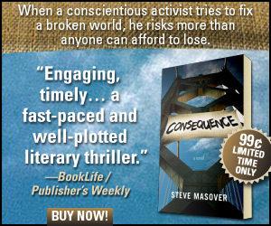 Consequence E-book discounted to $0.99, Oct 15 through Nov 5, 2016